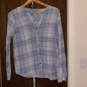 Joie Button Down Shirt Size M